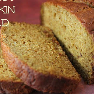 Perfect Pumpkin Bread.