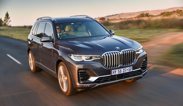 The X7 is the brand's largest and most luxurious SUV.