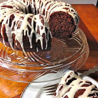 Triple Chocolate Sour Cream Bundt Cake