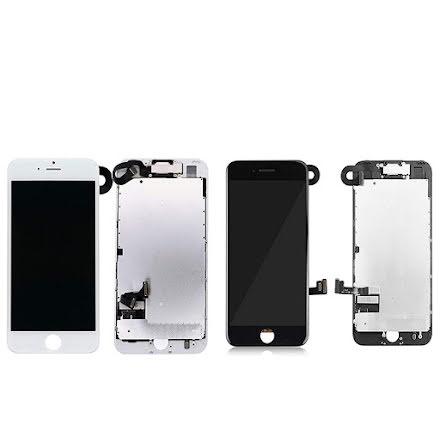 iPhone 8 Plus komplett LCD skärm med smådelar OEM