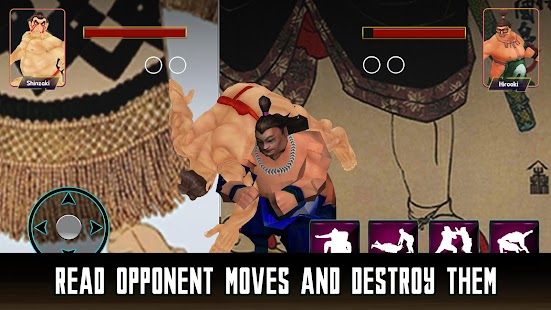 Sumotori Wrestlers Fight-Sumo Wrestling Revolution - náhled