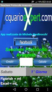 Protocollo Avanzato Seachem - náhled