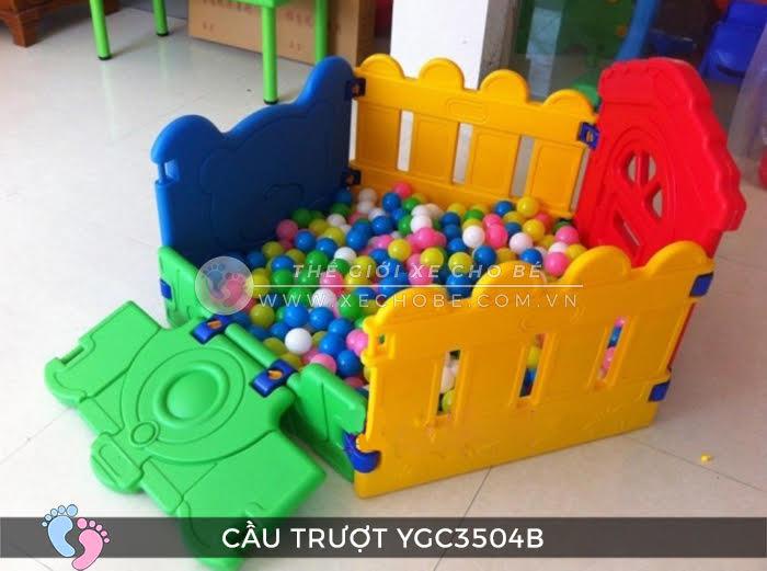 Nhà banh mini cho bé YGC-3504B 3
