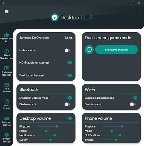 Desktop Hub for Samsung DeX 2.44 screenshots 1