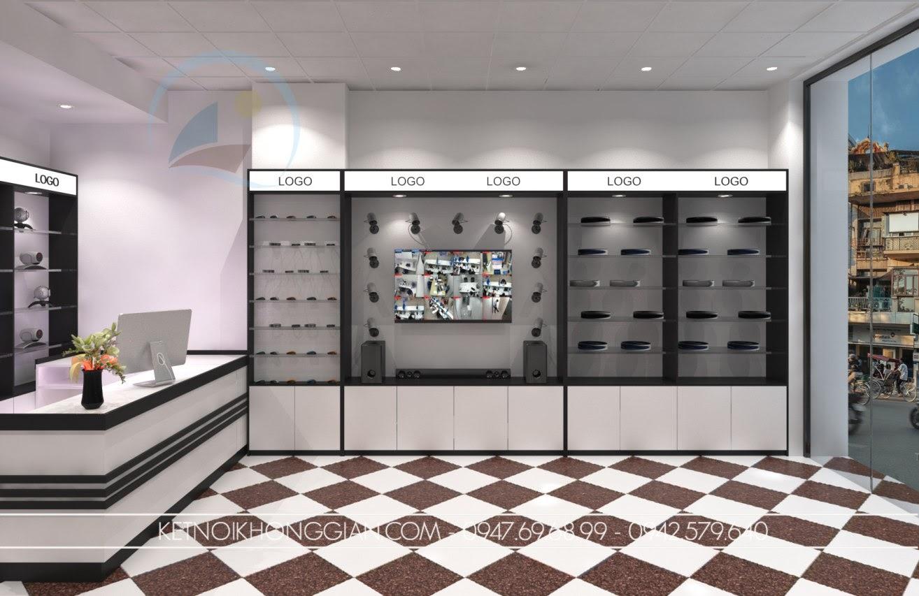 thiết kế cửa hàng đồ điện tử 3