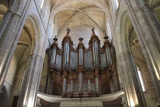 Photo: L'orgue Isnard (1772-1774)