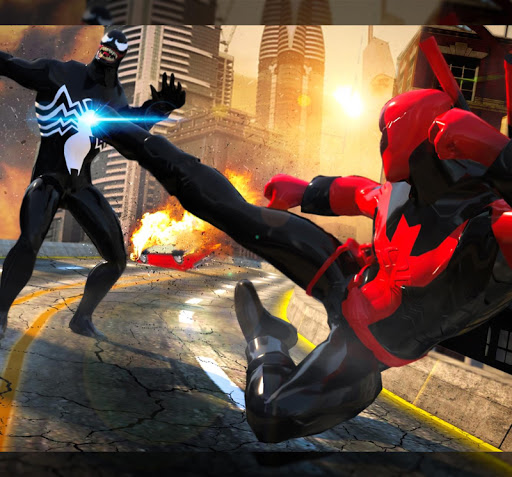 Grand Superhero Venom VS Spider Iron Hero Hunters 1.0 screenshots 11