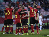 Les Belges ont mis 6 buts à l'Estonie, voici les buts