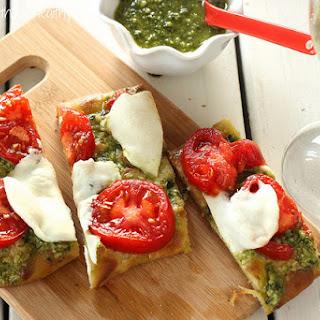Tomato Pesto Flatbread Recipes