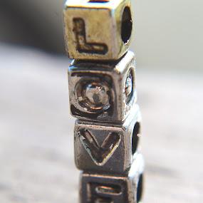"""""""LOVE""""  by H Scott Burd - Uncategorized All Uncategorized ( letter blocks l o v e )"""
