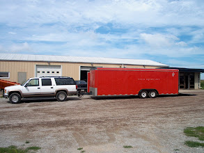 Photo: a 3/4 ton suburban with 454 was availible as was the enclosed trailer . It helps to know the right people