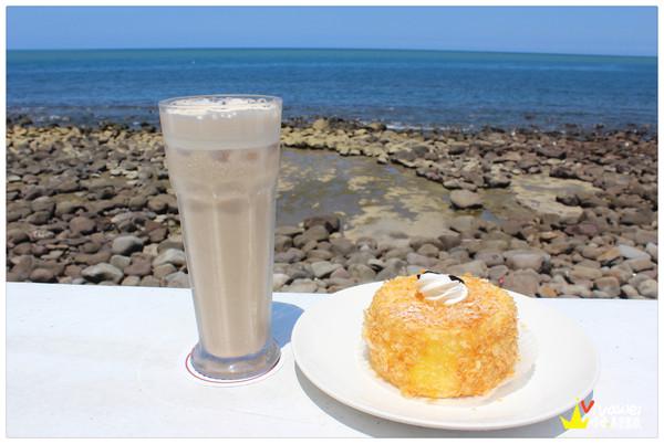 地中海風!面海的美味餐點咖啡廳『洋荳子咖啡屋』 推薦 美食 餐廳 必吃 下午茶 久坐