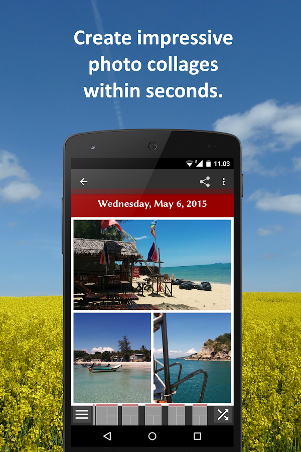 تطبيق Make My Day لتجميع صور مناسباتك في صورة واحدة