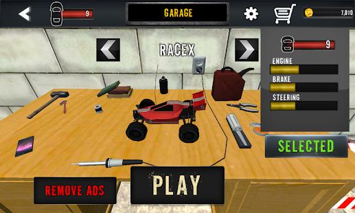 Hacked Racing Toys : Toy car racing table top hack cheats cheatshacks