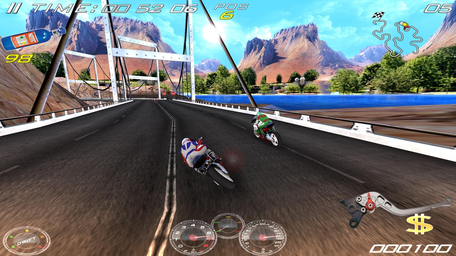 Ultimate Moto RR 4 Free- screenshot