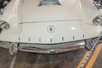 Photo: Packard Name & Scoop, Studebaker Logo