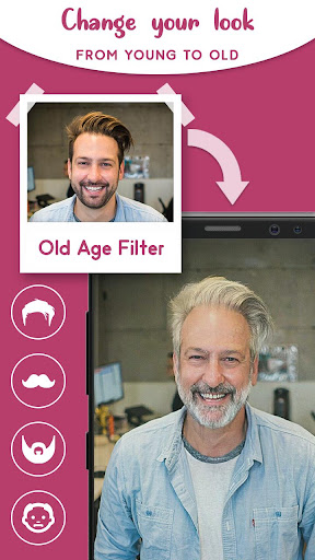 Old Age Face effects App screenshot 2