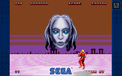 Space Harrier II Classic- screenshot thumbnail