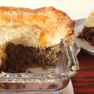 Vegetarian Tourtiere Bake Recipe