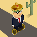 Trump On The Run Icon