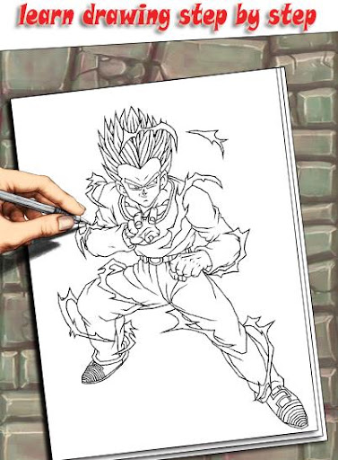 How To Draw DBZ Characters 1.3 screenshots 2