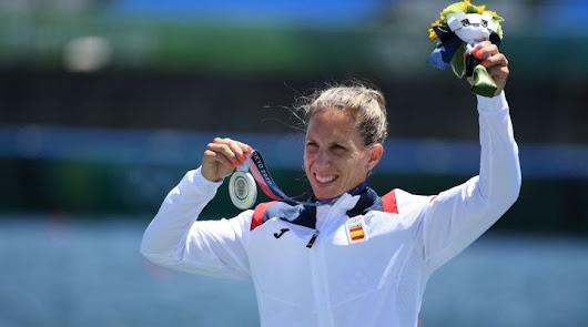 Teresa Portela consigue la medalla de plata en la modalidad K1 200