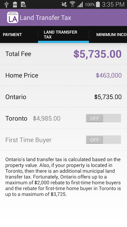 LA Mortgage Team's App- screenshot