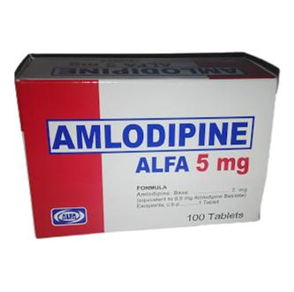 amlodipina 5mg 10tabletas blister alfa