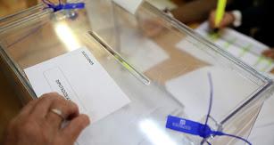 Ciudadanos votando este 10N en una jornada electoral.