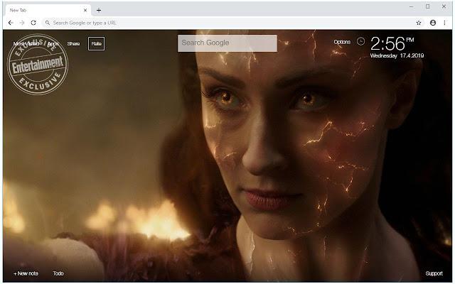 X Men Dark Phoenix HD Wallpapers New Tab