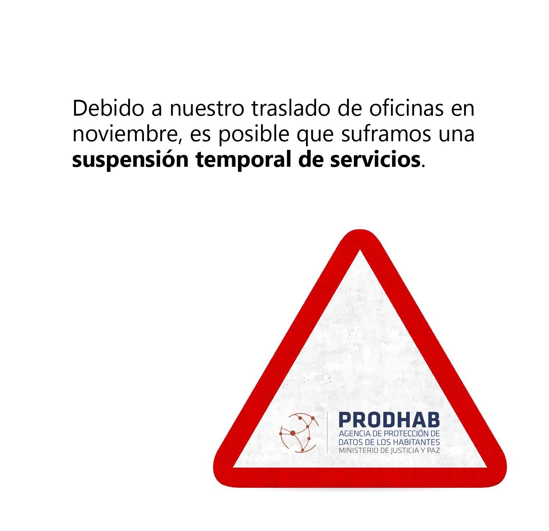 Afectación de servicios