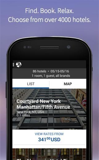 Marriott International - screenshot