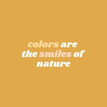 Smiles of Nature - Instagram Post template