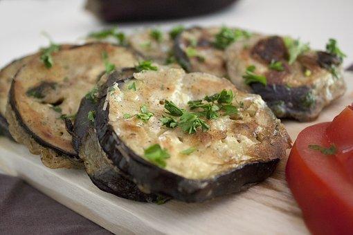 Eggplant, Kitchen, Tomato, Parsley