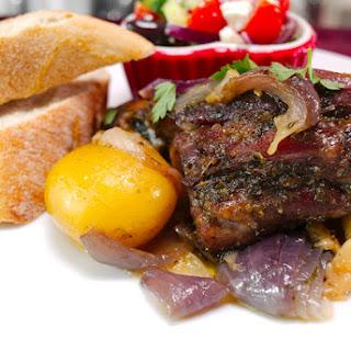 Greek Roasted Lamb (Kleftiko).