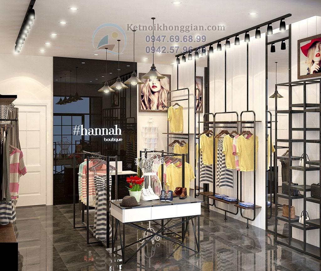 Thiết kế cửa hàng quần áo đẹp