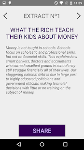 Rich Dad Poor Dad Quotes Amazing Summary Rich Dad  Android Apps On Google Play
