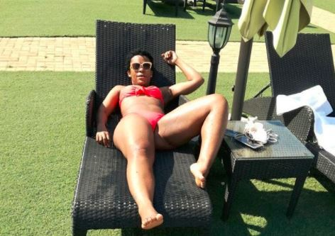 Zodwa Wabantu doesn't give a damn about peoples' opinions.