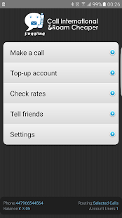 Cheap International Calls apps- screenshot thumbnail