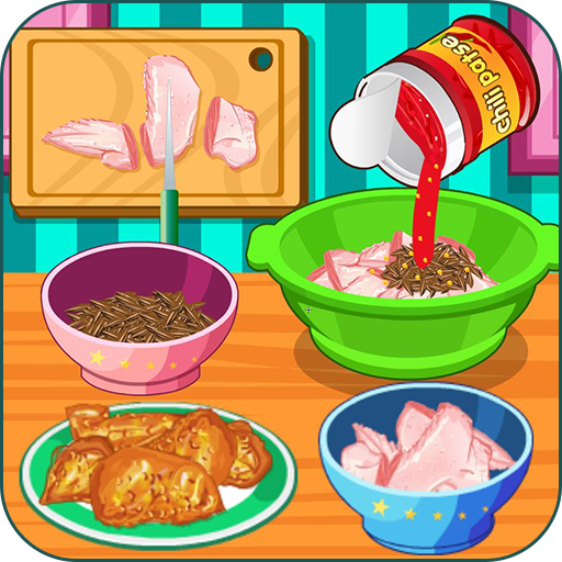 Cooking super chicken wings Icon