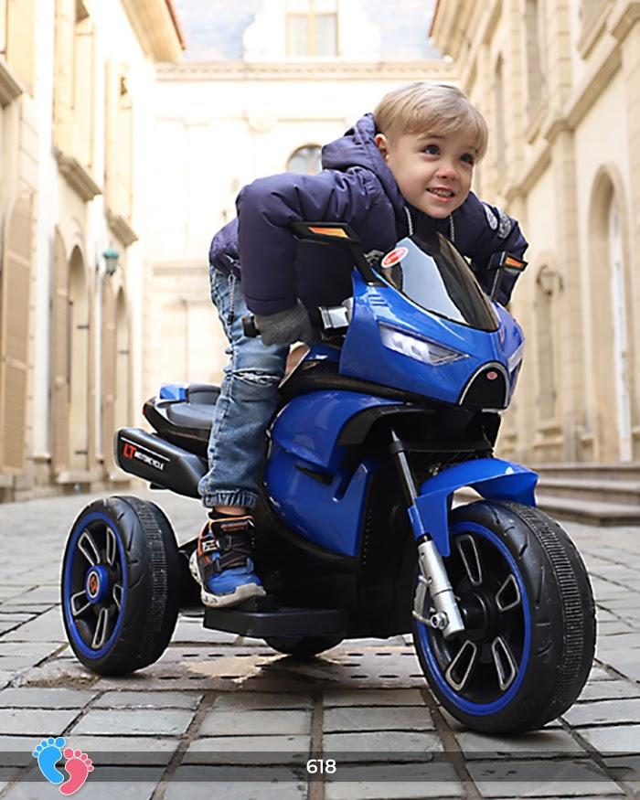 Xe mô tô điện cho bé điều khiển tay ga LT-618 3