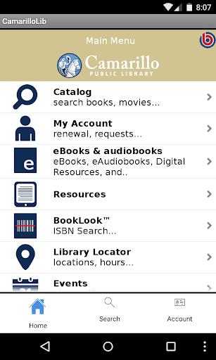 Camarillo Public Library App