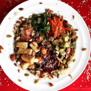 Veggie Quinoa Bowl [Vegan]