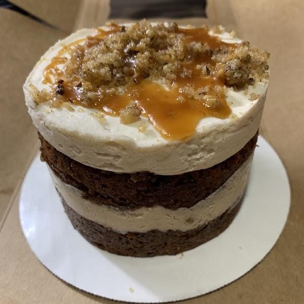 GF carrot cake