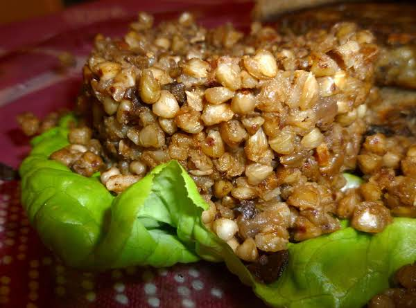 Buckwheat Kasha With Mushrooms Recipe
