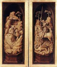 Photo: Sforza Triptych. Exterior, c. 1460