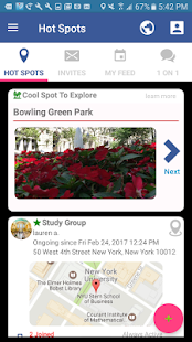 Voux - Meetup, Chat, Share Places- screenshot thumbnail