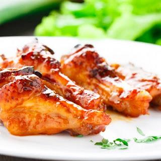 Honey Baked Chicken Wings.