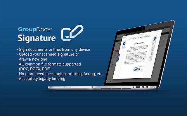 GroupDocs Signature plugin for Gmail