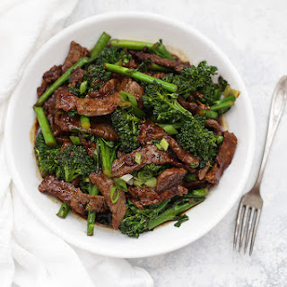 Healthy Beef and Broccoli.